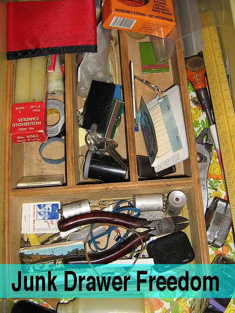 Take 5 for the Kitchen Junk Drawer Freedom