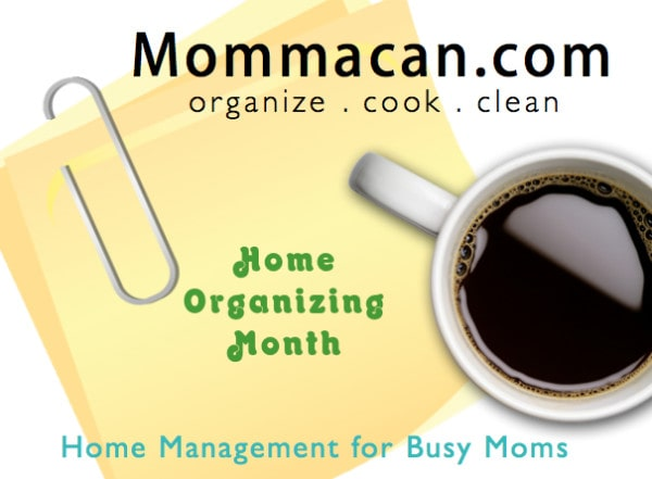 home organizing month