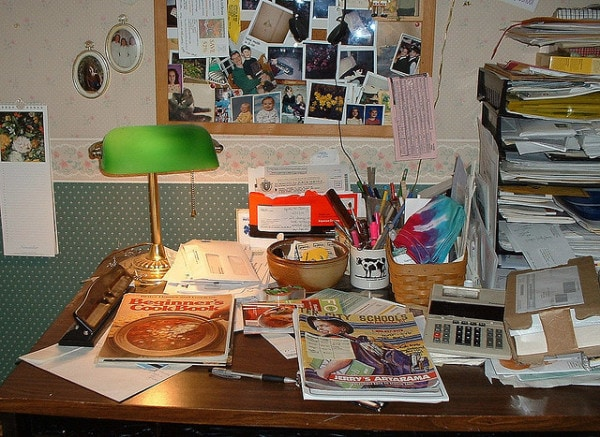 Messy Desk Challenge