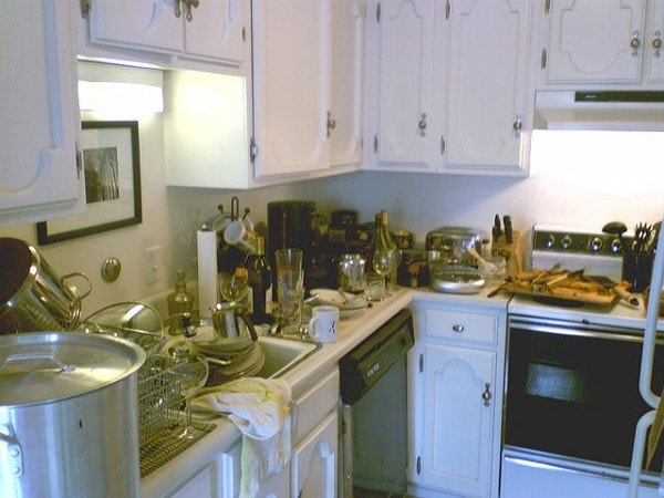 Messy Construction Kitchens : Messy kitchen challenge momma can