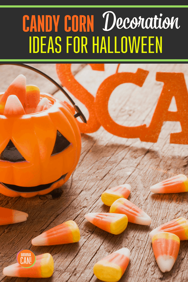Decorating for Halloween is a snap with a few items, including colorful Candy Corn! Discover some simple decorating tips using this economical edible decoarting tool!