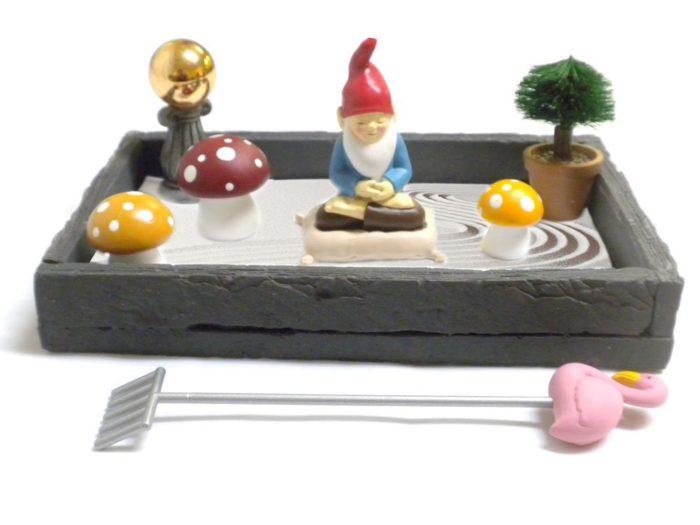Desk Gnome Zen Garden - So Cute