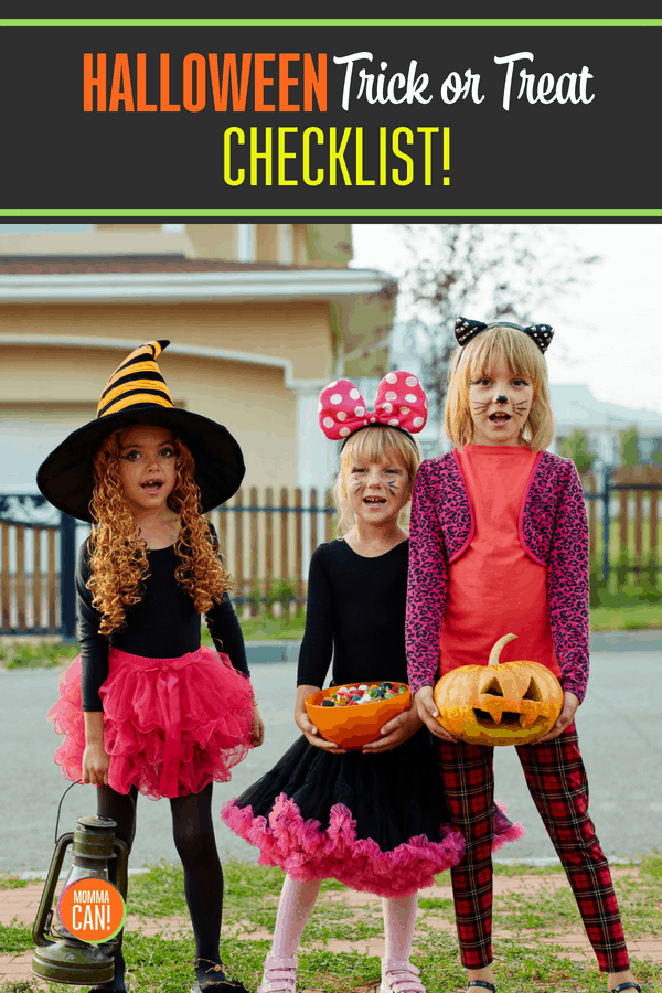 Get organized and stay safe this Halloween. Read and grab your free printable. Halloween Trick Or Treat Checklist