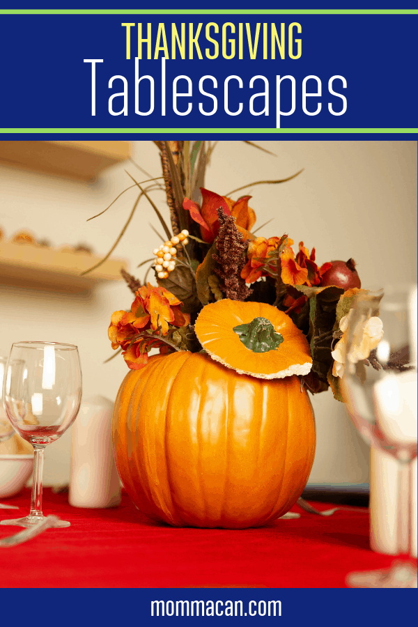 Five Fall Thanksgiving Table Settings