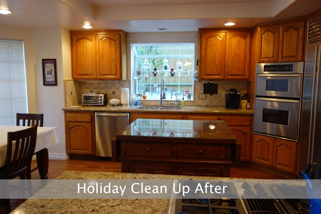 holiday-cleanup-ktichen-afterwith-gray