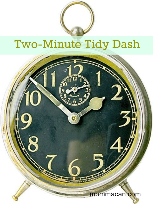 Simple Daily Challenge and Facebook Tidy Dash for Busy Moms Tuesday, Feb 25 -10:00am