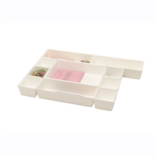 White Drawer Organizer
