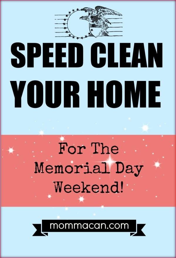 memorial day weekend clean