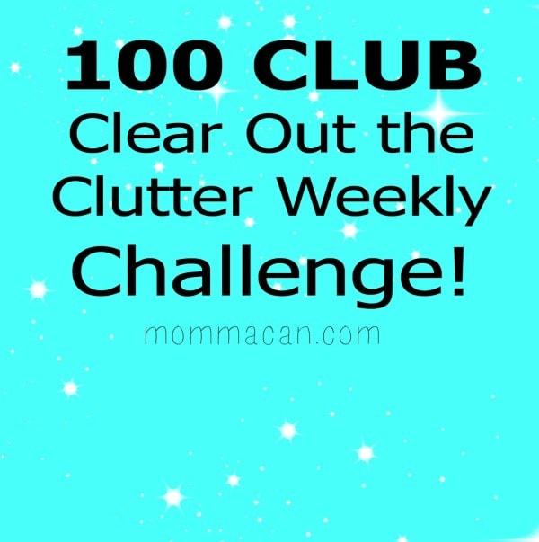 100 Clutter Challenge