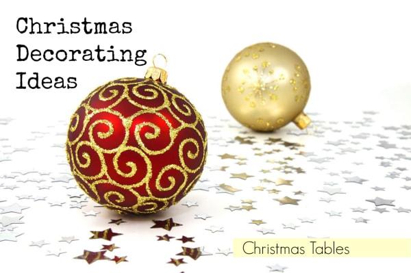 Christmas Tables