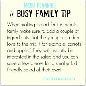 salad tip