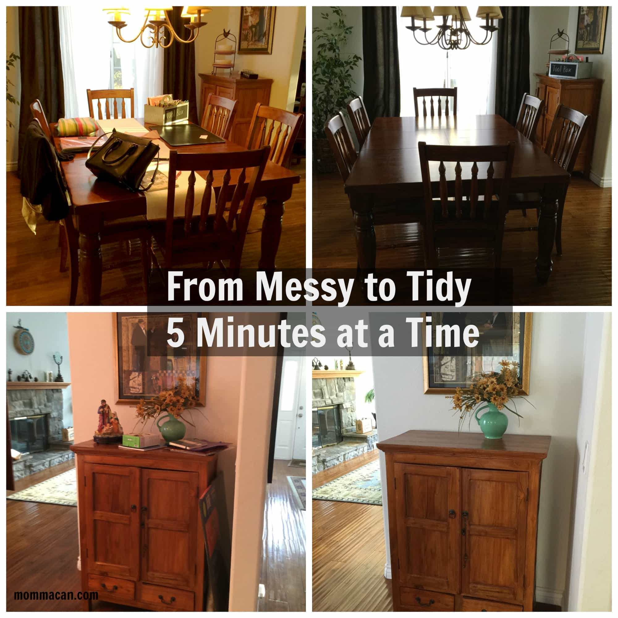 Busy Mom Busy Life – Getting Real Tidying Up the Dining Room