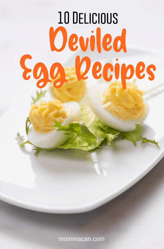 10 Deviled Egg Recipes to Try  The perfect addtion to your Brunch and Special Occasions. #deviledeggs