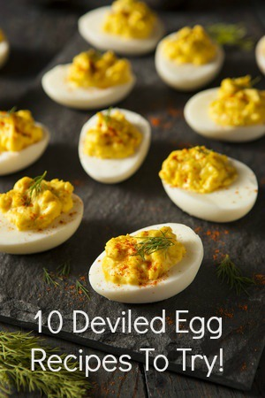 10 Deviled Egg Recipes to try