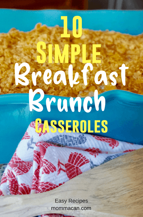 10 Simple Breakfast or Brunch Casseroles | Paula Deen | Mom Hashbrown Casserole