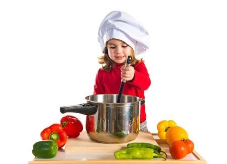 Cooking with Kids – Tools and Cookbooks Perfect As Gifts for Birthdays and Holidays