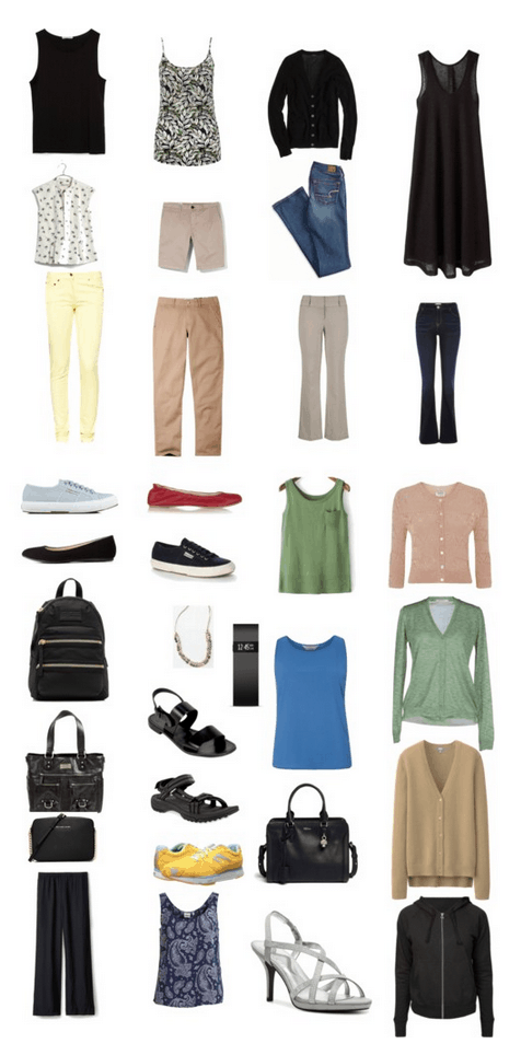 My First Project 333 – Late Spring  –   Capsule Wardrobe Magic Baby