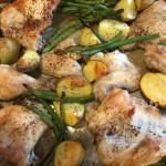 Sheet Pan Chicken and Potatoes
