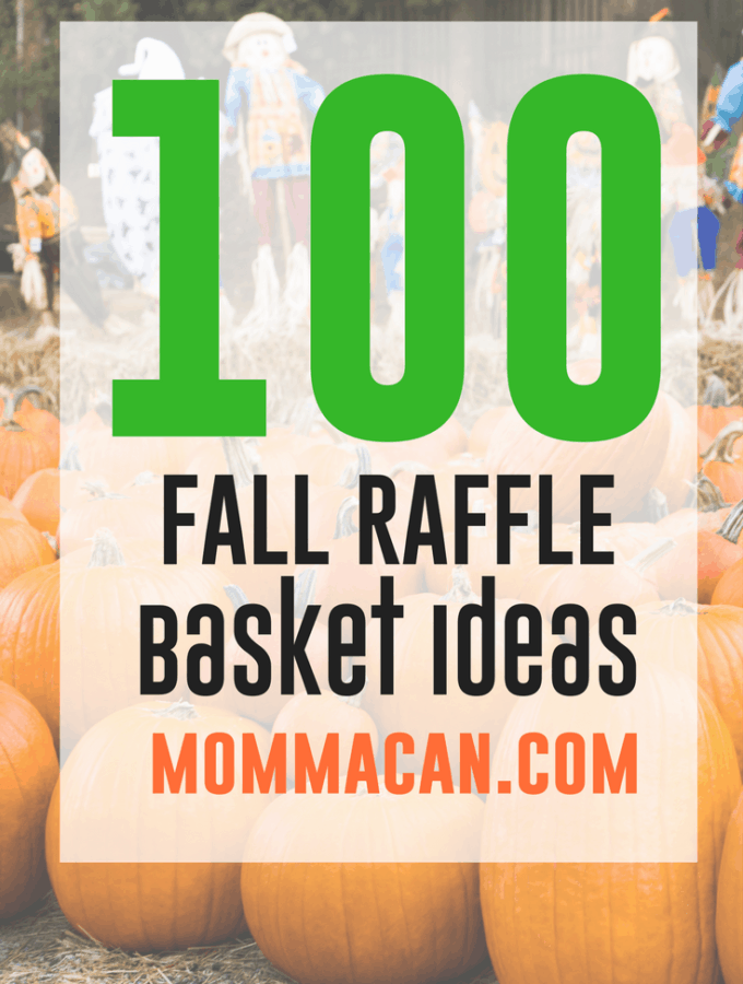 100 Fall Festival Raffle Basket Ideas – Auction Basket List