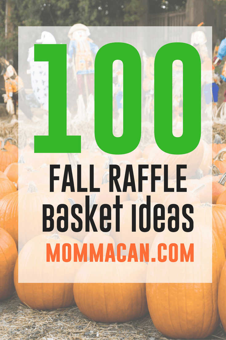 100 Fall Festival Raffle Basket Ideas Auction Basket