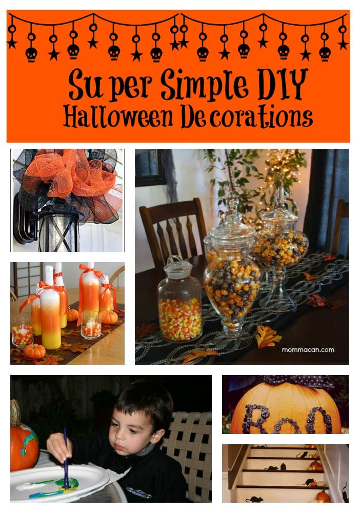 Super Simple DIY Halloween Decorating  – Budget Friendly