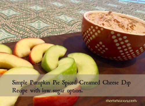 lowsugar pumpking pie spiced