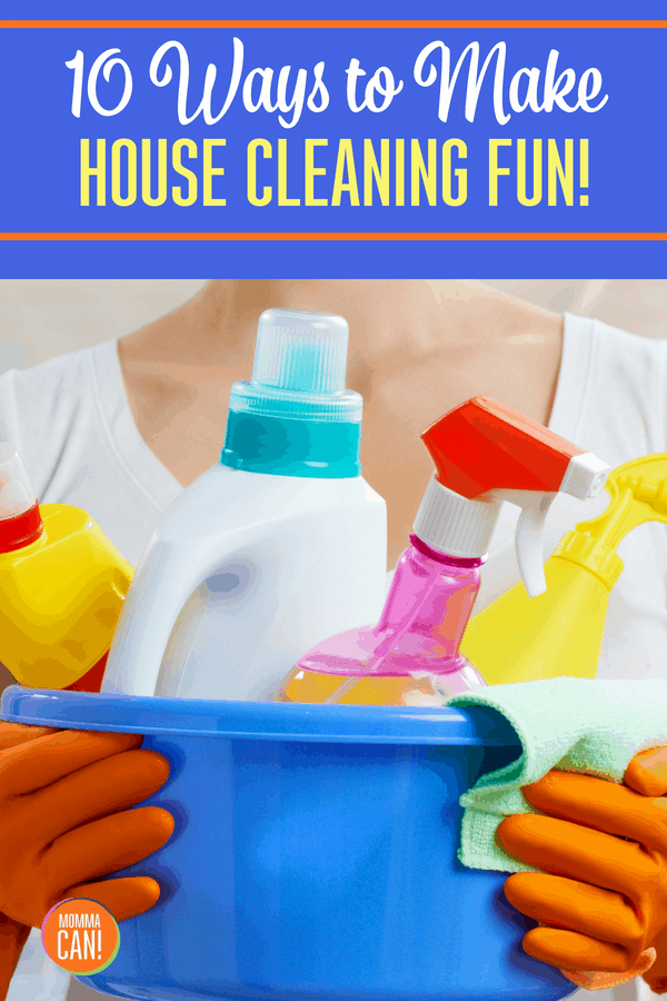 No one wants a messy house! Everyone loves to have a good time. Discover our 10 ways to make house cleaning fun! With a little bit of humor and a whole bunch of silly, this is the best tool for motivation offered around! Housekeeping should bring at least a little bit of joy! Why not make it a ridiculously fun experience?