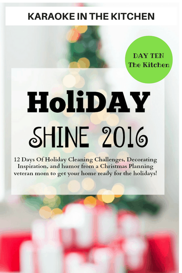 Karaoke in the Kitchen – Shine, Holiday, Shine