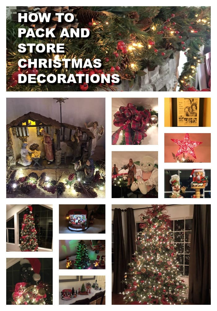 How To Pack and Store  Christmas Decorations