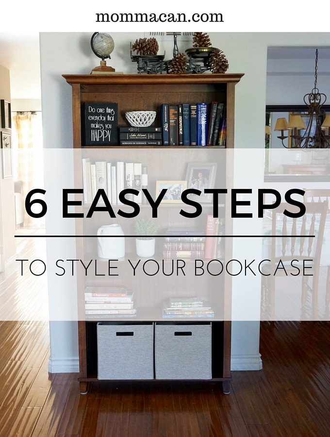 Style Your Bookcase in Six Easy Steps