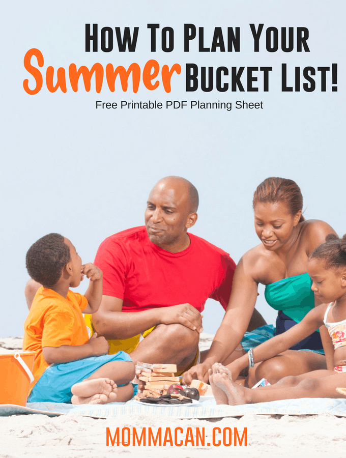 How To Plan Your Summer Bucket List! | The best family-method to plan your summer fun!