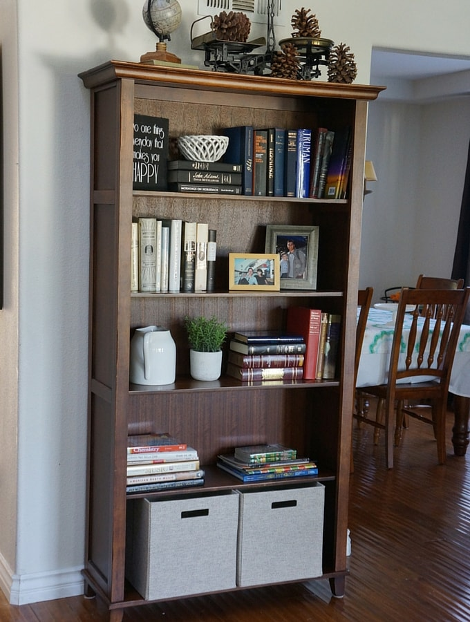 Six Steps to A Beautifully Styled Bookcase