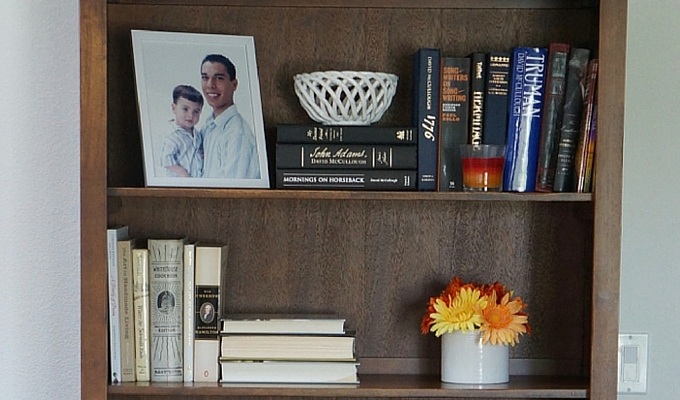 Mother's Day Bookcase