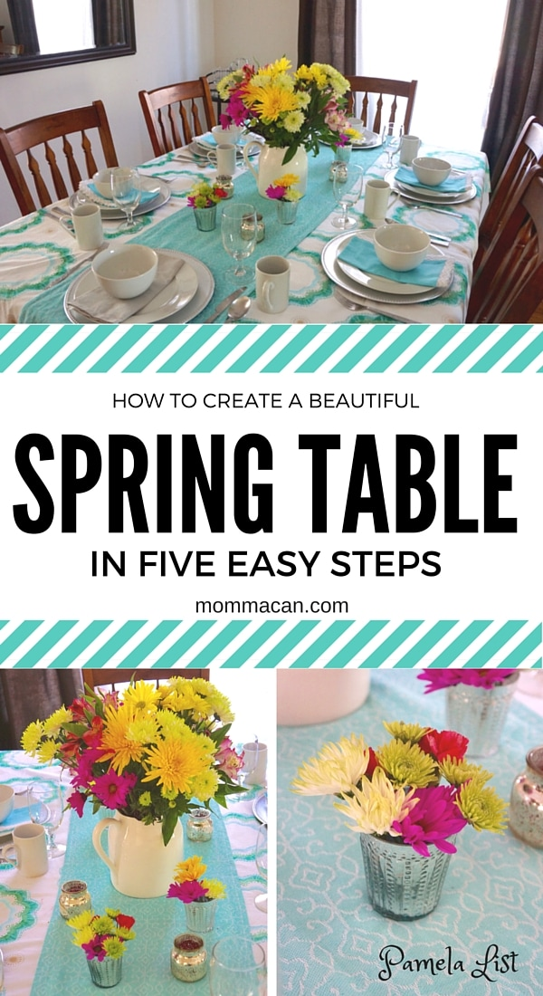 Create A Spring Table in 5 Easy Steps