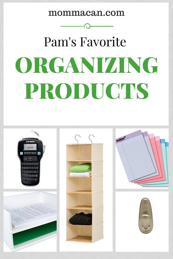 Pam's Favorite Organizing Products