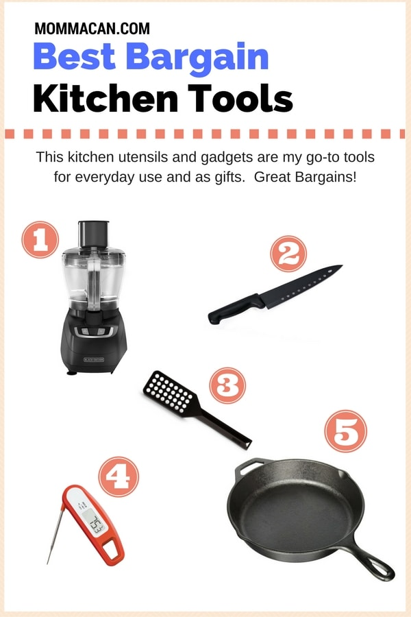 Check out these great kitchen gadget and utensil bargains.