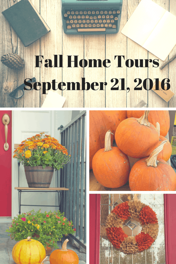 Fall Home Tour Is Coming Soon
