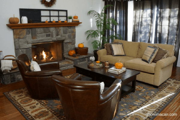 festive-fall-home-tour-2016-living-room-with-comforting-fireplace-and-pumpkins-galore-mommacan-com