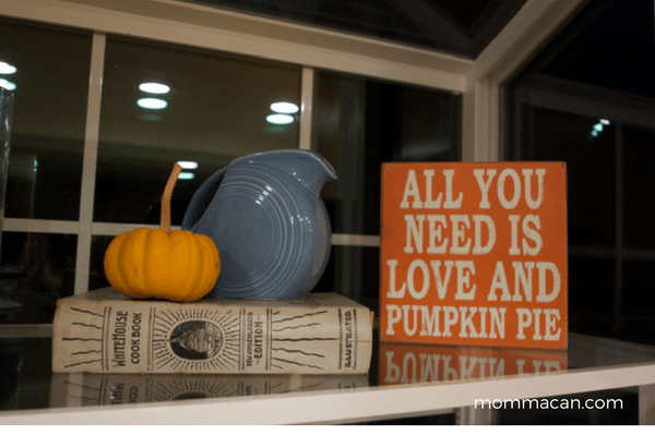 festive-fall-tour-shelf-vignette-with-a-vintage-whitehouse-cookbook-mommacan-com
