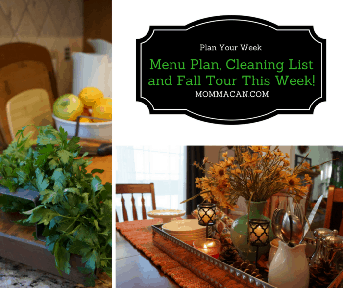 menu-plan-cleaning-list-and-fall-tour-this-week-mommacan-com