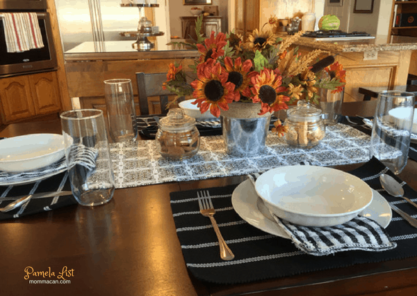 Dollar Store Fall Tablescape Beautiful Fall Table Setting Under 35 bucks!