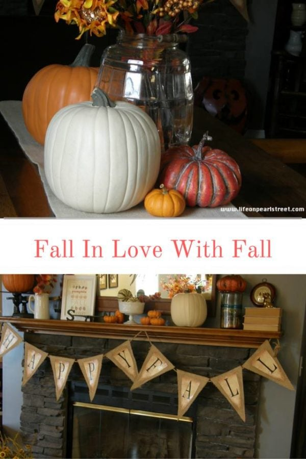 Fall Vignette - Life On Pearl Street