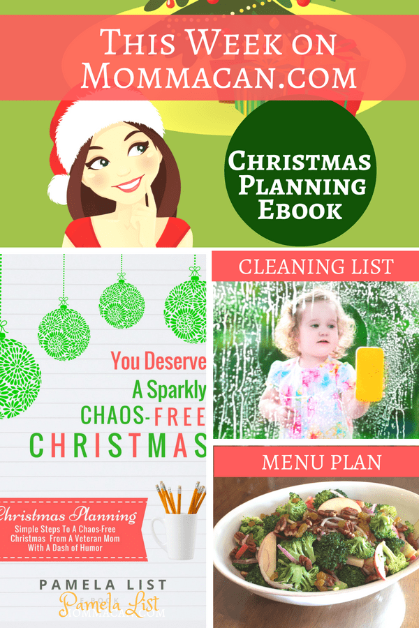 Menu Plan and Christmas Planning Ebook