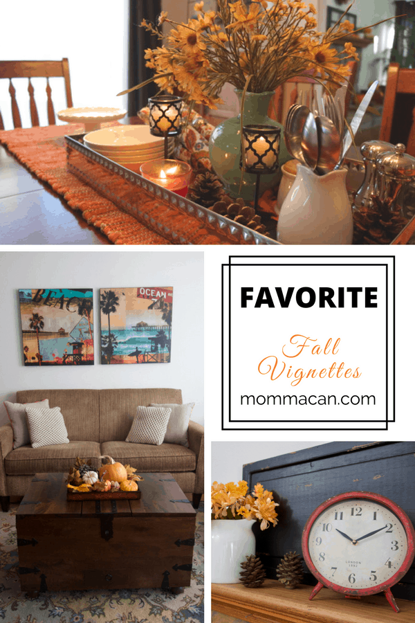 I have really enjoyed the creative process of designing Fall Vignettes! Enjoy!