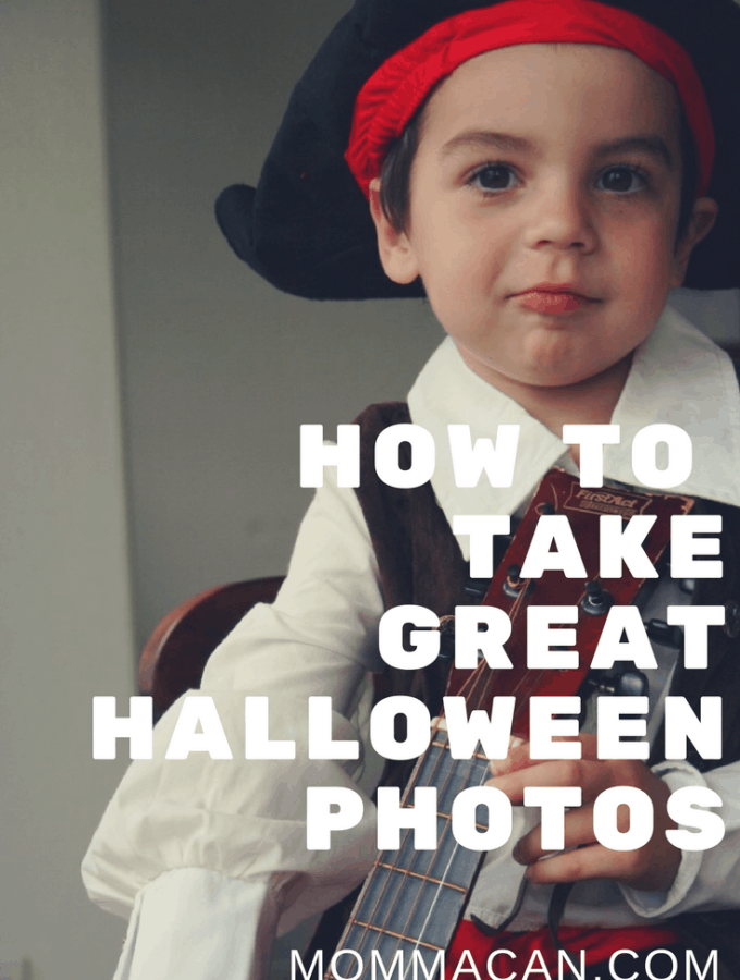 How To Take Great Halloween Kid Photos