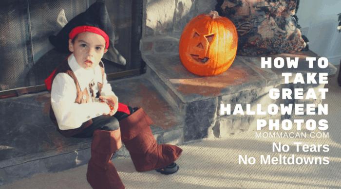 How To Take Great Halloween Kid Photos