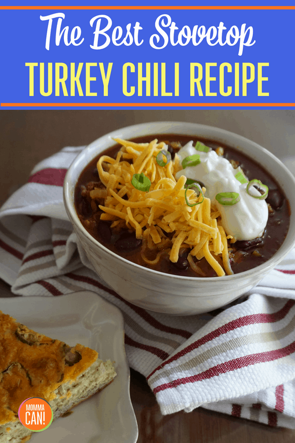 Your search is finally over for the best stovetop ground turkey chili recipe. This is so good, and there is nothing like cooking chili on the stove. The tantalzing smells and richness of slow cooked tomatoes and spices are just amazing.
