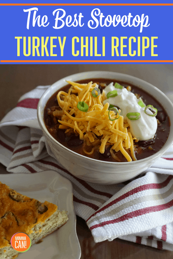 Best Ever Super Easy Spicy Turkey Chili Recipe Momma Can