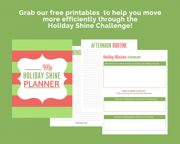 FREE PRINTABLES TO GET YOUR HOME READY FOR THE HOLIDAYS