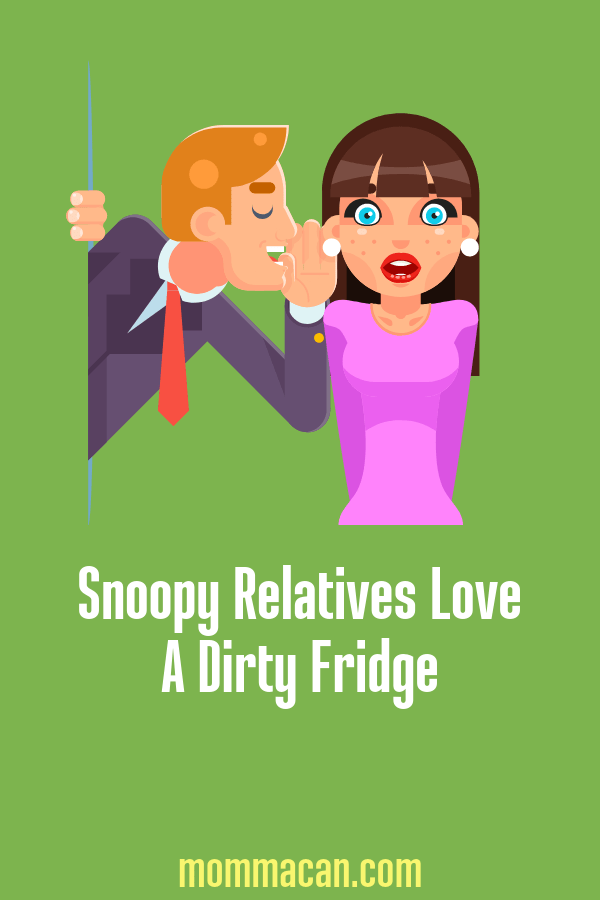 Snoopy Relative Love Dirty Fridge so don't give them anything to gossop about! Join the Cleaning Challenge